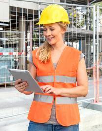 Warnweste für Damen EN ISO 20471